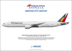 New arrival to LHR Philippine Airlines Boeing
