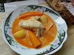 Kuracia mliečna kyslá polievka (fotorecept) - Recept