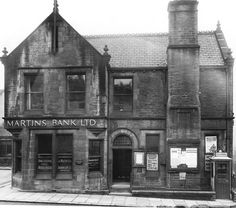 Martins Bank (now Post Office), Luddenden Foot