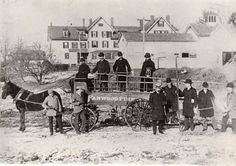First Fire Department Apparatus/ 1890's