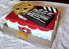 Movie Theme Sweet Sixteen Cake, via Flickr.