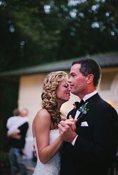 Why this Father-Daughter dance was especially sacred for this bride. Kallima Photography.