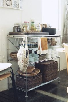 any kitchen can look lovely :)