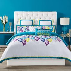 Christian Siriano Plume Comforter Set Size: Full/Queen