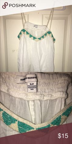 American Eagle Top Beaded details American Eagle Outfitters Tops Blouses