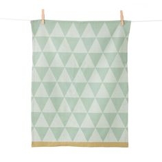 Ferm Living - Mountain Towel, Küchentuch, 70x50, minze, Einzelabbildung