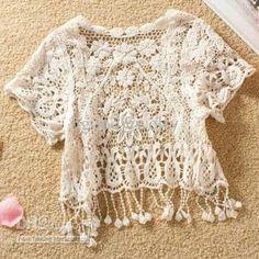 Wholesale Cape Shawls - Buy Tank Top Crochet Tassel Lace Weskit Dress Cape Shawls Sexy Tank Cape Waistcoat Lace Shawls T12090131, $8.53 | DHgate