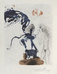 Oedipus. Mythologie. 1963-65. Salvador Dali - William Weston Gallery