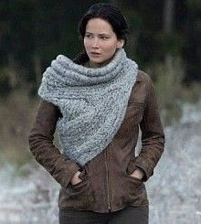 catching fire sleeve scarf...