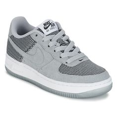 Nike AIR FORCE 1 PREMIUM JUNIOR Noir / Blanc