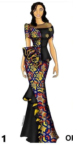Nigerian Lace Dress, African Lace Dresses, Latest African Fashion Dresses, African Dresses For Women, African Attire, African Wear, African Print Clothing, African Print Fashion, Africa Fashion
