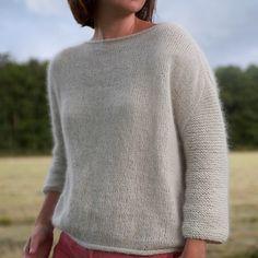 Ravelry: Mellow Sweater / Lun genser pattern by Anna & Heidi Pickles