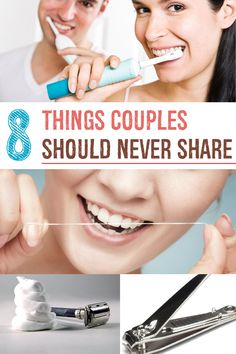 8 Things Couples Should Never Share