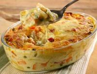 Legumes gratinados – Best Art images in 2019 Veggie Recipes, Vegetarian Recipes, Healthy Recipes, I Love Food, Good Food, Yummy Food, Easy Cooking, Cooking Recipes, Portuguese Recipes
