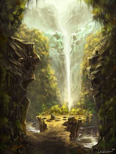 Mountain Path by UnidColor.deviantart.com on @deviantART