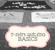 Wee Share: T-Shirt Quilting BASICS! {Tutorial}