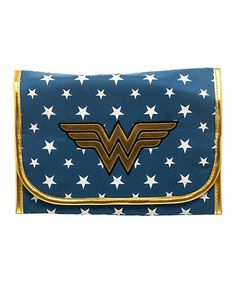 Love this Wonder Woman Cosmetic Bag on #zulily! #zulilyfinds