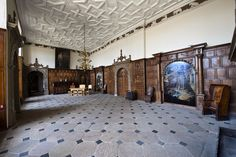 At Aston Hall in the members of staff are worried. Aston Hall, Hatfield House, Regency House, Birmingham Museum, Castles In England, City Museum, Entry Hallway, Victorian Architecture, Historic Homes