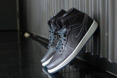 promo code df51b 1c5fe Air Jordan 1 Mid Nouveau Wolf Grey White  MensFashionSneakers Latest  Sneakers, Sneakers Fashion