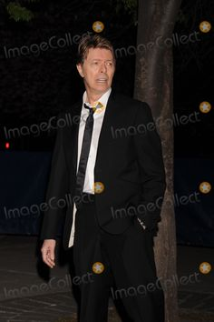 Singer David Bowie attends the 7th Annual Tribeca Film Festival Vanity Fair Party at the State Supreme Courthouse.