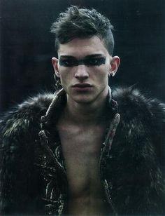 Jean-Baptiste Mondino | Post-apocalyptic Avant-Garde Tribe Fashion More Fashion here.