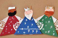Tři králové se stříbrnými korunkami