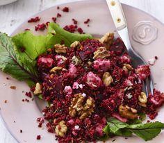 Lekker! Recept van Rens Kroes: maak je eigen bietensalade
