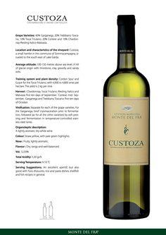 2014 Monte del Frá Bianco di Custoza. Had it as a Special Wine of April 2016. Quite nice. 87/100