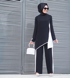 Women Fashion New Fashion – Women Modern Hijab Fashion, Abaya Fashion, Muslim Fashion, Modest Fashion, Fashion Outfits, Womens Fashion, Fashion Trends, Hijab Dress, Hijab Outfit