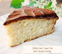 The other night I laid  in bed thinking about a yellow cake with chocolate frosting.  I realized a chocolate craving had hit, time for a chocolate fix.  The classic flavors of chocolate and vanilla come shining through in the combination of these two recipes. The vanilla flavor in this single layer 9 inch cake... Read More »