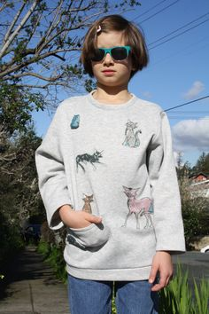 by OlgaWhitman on Etsy Angry Cat, Cat Doll, Warm And Cozy, Cotton Fabric, Etsy, Dolls, Sweatshirts, Sweaters, Stuff To Buy
