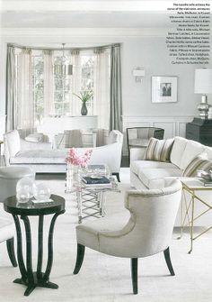 JLo's living room - designed by Michelle Workman