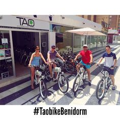 Our new customers from #uk are discovering the new face of #benidorm with our #taobike they will know the natural park of #serragelada and will travel towards the #albir and #altea to discover these beautiful villages!! #responsibletourism #ecotourism #electricbikes #bicicletaselectricas #cyclehire #bikerental #alquilerbicicletas #benidormnolimits #ilovemyjob