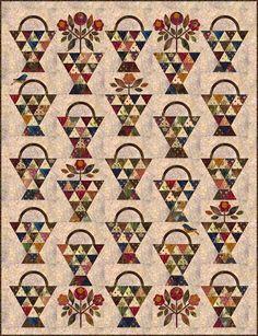 Paint Basket Pattern - Laundry Basket Quilts