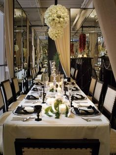 Jo Malone's decadent Christmas table featured at DIFFA's Dining by Design Event in San Francisco