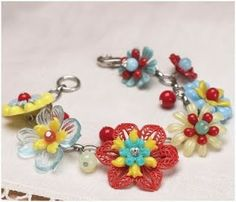 Even More Flower Jewelry Tutorials - The Beading Gem's Journal