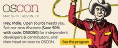 OSCON - May 16-19, 2016 - Austin, TX - See the program