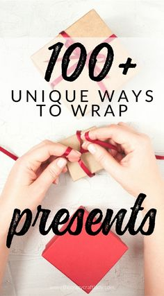 100 Gift Wrapping Tutorials Ideas And Printables