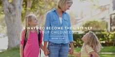 How to Tell if You are a Good Listener: 5 Ways to Become the Listener Your Child Needs - iMom Parenting Articles, Kids And Parenting, What Makes You Laugh, How To Focus Better, Good Communication Skills, Feeling Frustrated, Foster Mom, Good Listener, Family Matters