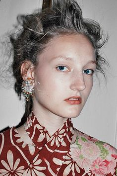 Simone Rocha SS16 London womenswear Chris Rhodes