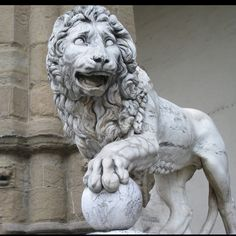 "Florence, Italy - I want to see him when we go there! He is saying ""Ha ha, I got the ball!"""