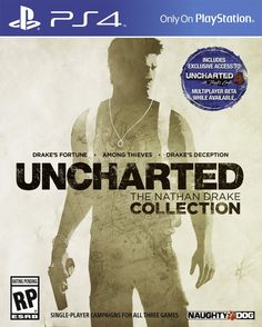 Amazon.com: UNCHARTED: The Nathan Drake Collection - PlayStation 4: Video Games