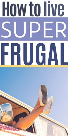 In this post I'll show you 125 of the Best Frugal Hacks for Frugal Living In These Crazy Times. Need to get started on frugal living, frugal living tips, or frugal living ideas? Head over to the blog to read this post. Don't forget to bookmark it and save it to your Frugal Living board, so you can easily refer to it later. Living on a budget | Extreme Frugality | Spending Less Money | Low Income Living Living On A Budget, Frugal Living Tips, Frugal Tips, Ways To Save Money, Money Saving Tips, Money Savers, Personal Finance, Good To Know, Get Started