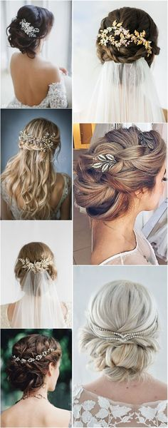 Wedding Hairstyles Hair Comes the Bride 20 Bridal Hair Accessories Get Style Advice for Any Budget See more: Pigtail Hairstyles, Boho Hairstyles, Latest Hairstyles, Wedding Hairstyles, Wedding Hair And Makeup, Wedding Updo, Hair Makeup, Post Wedding, Wedding Hair Pins