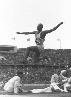 By winning a record four events at the 1936 Berlin Olympics, Jesse Owens, 22, foiled Hitler's dream of showcasing Aryan superiority.