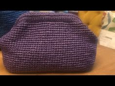 Aparatlı rafya çanta - YouTube Crochet Bag Tutorials, Punch Needle, Knitted Bags, Handmade Bags, Bag Sale, Purses And Bags, Diy And Crafts, Knit Crochet, Cross Stitch