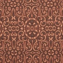 Italian Copper Classical Brocade The pattern on this beautiful textured copper brocade reminds us a bit of designs on Moroccan mosques. Medium-weight with a crisper drape, this Italian brocade would make a stunning jacket or pencil skirt. Mood Fabrics, Brocade Fabric, Warm Autumn, Fabric Textures, White Trim, Animal Print Rug, Copper, Bronze, Prints