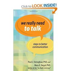 Book 31.We Really Need to Talk: Steps to Better Communication
