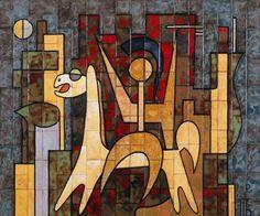 jpg Alexander The Great – Valsamakis Panos wall art Ceramic Wall Art, Painter Artist, Greek Art, Alexander The Great, Panel Wall Art, New Artists, Pottery Art, Mid Century, Ceramics