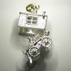 Buy Gypsy Wagon (opens) Charm (chr-3080) online at Chain Me Up